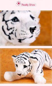 Stuffed White Tiger